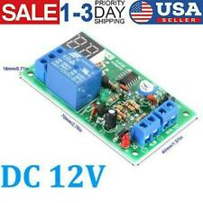 Dc 12v Led Display Countdown Timer Delay Turn Off Relay Switch Module Fast Ship