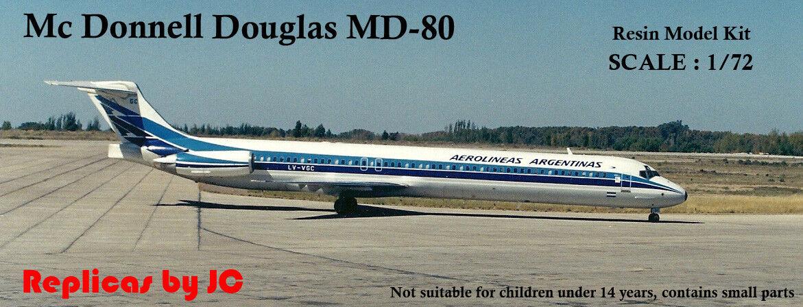 Mc Donnell Douglas MD-88 - 1 72 - Resin Kit - Aerolineas silverinas