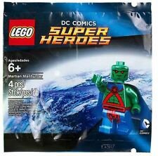 Lego 5002126 Martian Manhunter Minifigure - New - Sealed