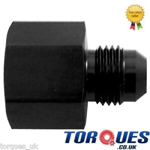 AN10-Female-to-AN8-Male-Straight-Reducer-Adapter-Black