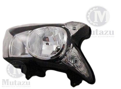 Mutazu Premium Quality Headlight for Kawasaki ER6N ER-6N 2009 2010 Clear Lens
