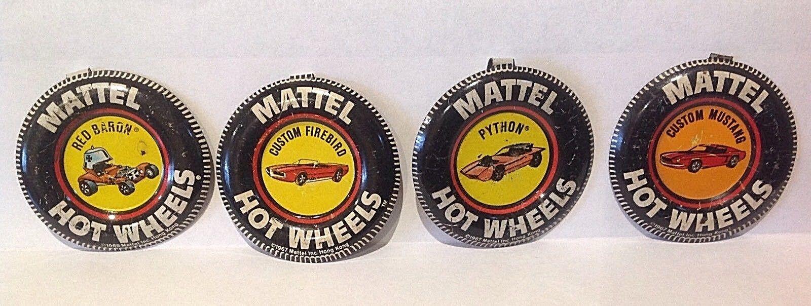 Hot Wheels rojo los trazadores de líneas insignias metálicas metálicas metálicas 1967 69 f8d91d