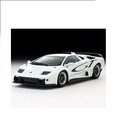 KYOSHO LAMBORGHINI DIABLO GT White 03215B, DieCaste Scale 1 43  GT Logo New