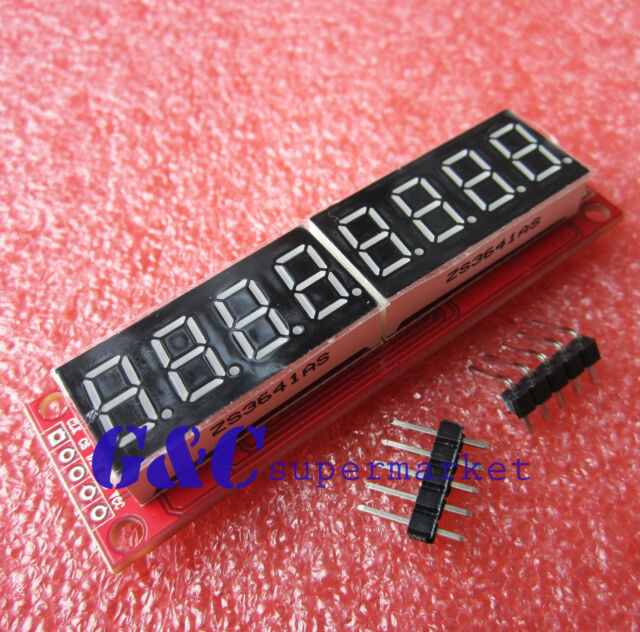 2PCS Red MAX7219 8-Digit LED Display Module Digital Tube for arduino M88