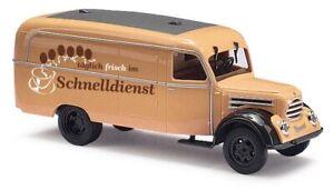 Busch-51806-Robur-Garant-K-30-Box-Truck-Schnelldienst-Car-Model-1-87-H0