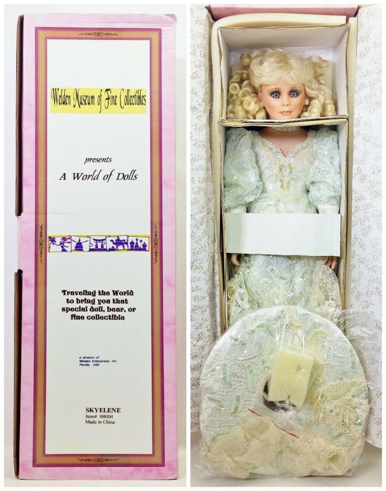Weldon Museo 27  Porcelana Muñeca skyelene por Rusti Edición Limitada Nº 898104