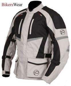 Buffalo-Alpine-Stone-Textile-Waterproof-Motorcycle-Scooter-Touring-Jacket
