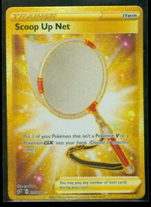Pokemon-SCOOP-UP-NET-207-192-Rebel-Clash-SECRET-RARE-FULL-ART-MINT