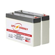 APC SC450RM1U Replacement Battery Kit - UPS Energy - (APC RBC18 Compatible)