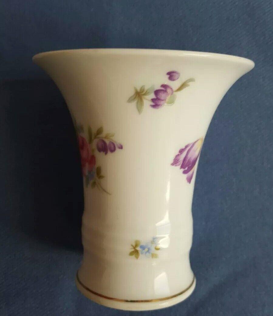 Très beau vase cornet ancien en porcelaine Rosenthal Rosenthal porcelaine Selb 606130
