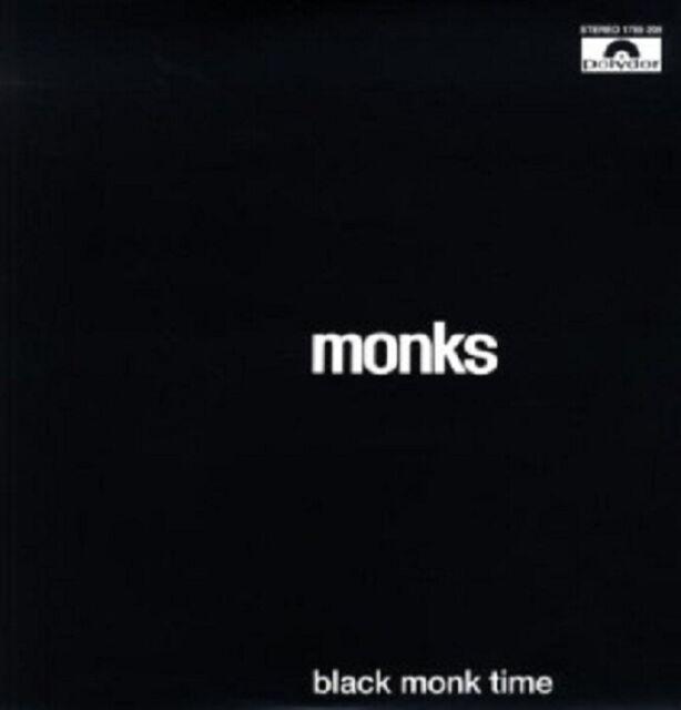 THE MONKS - BLACK MONK TIME  VINYL LP  12 TRACKS PUNK ROCK / ROCK 'N' ROLL NEW