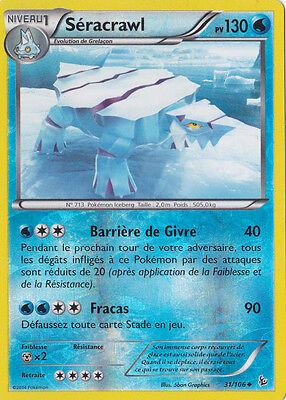31//106 Carte Pokemon Neuve Française Séracrawl Reverse XY2:Etincelles