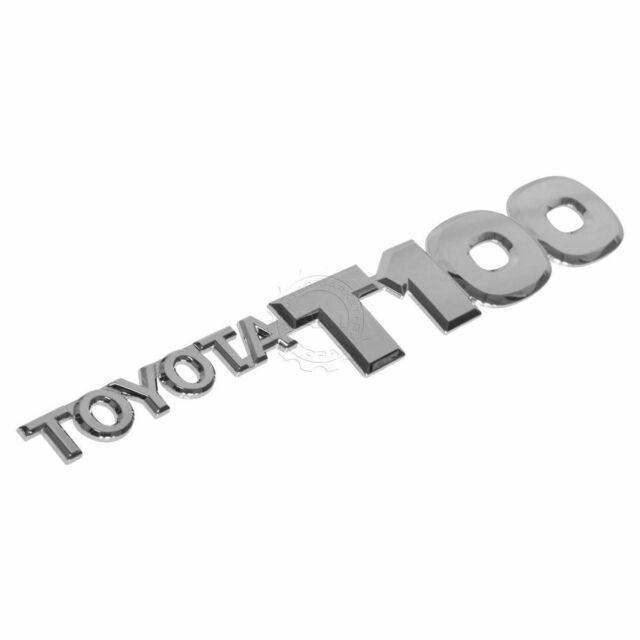 TOYOTA OEM T100 1997 DOOR EMBLEM T100 BADGE NAMEPLATE LEFT SIDE  7542734010