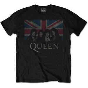 Queen-Union-Jack-Official-Merchandise-T-Shirt-M-L-XL-Neu