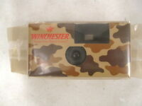 Original Winchester Disposable Camouflage Camera In Sealed Package - Collectible