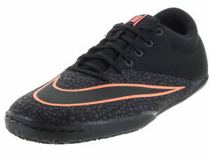 buy popular 1f3a9 56ebf Details about NIKE MERCURIALX PRO IC SOCCER RUNNING MEN SHOES BLACK  725244-008 SIZE 12 NEW