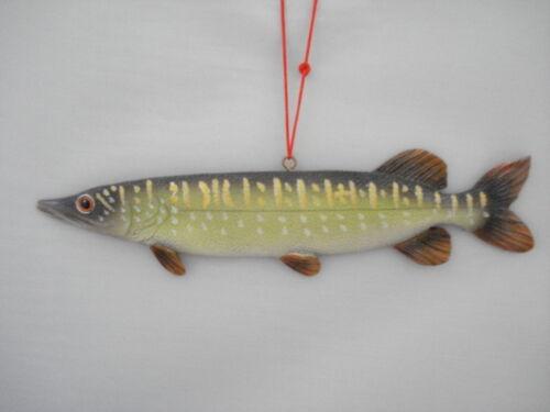 Fishing Ornament Pike Fish 46679 43