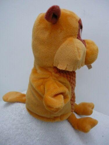 "Play /& Learn Fabeltjeskrant WILLIAM BEAVER Hand Glove Puppet Soft Toy 28cm 11/"""