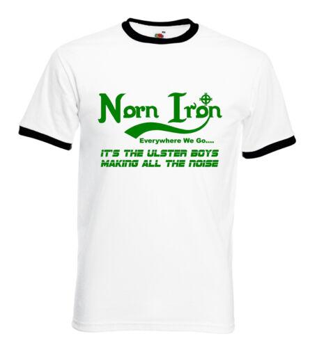 Northern Ireland Everywhere We Go Norn Iron T-Shirt Football Euro 2020