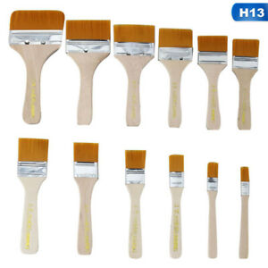 Disposable-Paint-Brushes-Painting-Brush-All-Size-Soft-Bristle-Wooden-Handle-UK