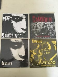 Samhain-7-Vinyl-Record-45-Danzig-Misfits-Punk-Rock-Colored-Vinyl