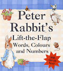 Peter Rabbit's Lift-the-flap Book of Words, Colours and Numbers by Beatrix Potter (Hardback, 2001)