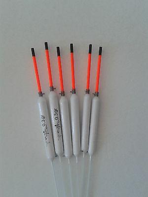 Lot de 16 fait à la main Flotteurs-rizov RF91-0.2; 0.4; 0.6; 0.8 g