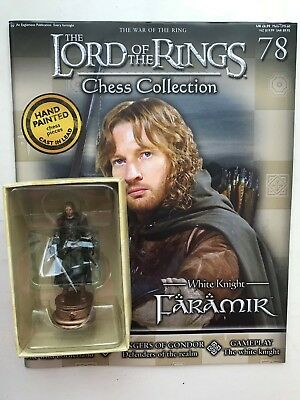 Magazine Lord of the Rings chess collection 62 DAMROD EAGLEMOSS figurine