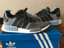 95169aafb1c02 item 1 Adidas NMD R1 S79159 Grey Black Clear Blue sneakers Nomand size 9 UK    9.5 US -Adidas NMD R1 S79159 Grey Black Clear Blue sneakers Nomand size 9  UK ...