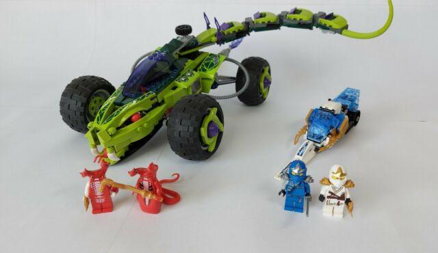 lego ninjago schlangenquad 9445 günstig kaufen  ebay
