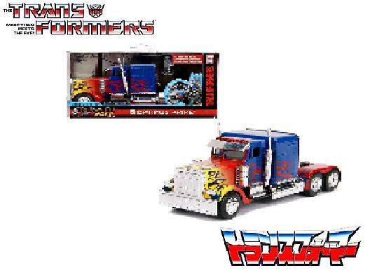 Transformers Movie T1 Optimus Prime 1:24 Diecast by Jada Hollywood Ride 30446