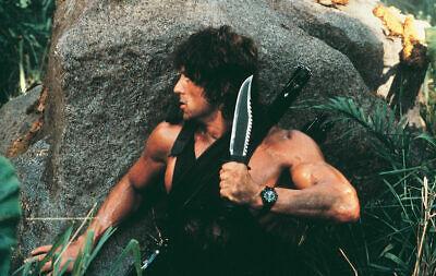 Rambo II First Blood Teil 2 John Rambo 2 Jagdmesser Outdoormesser Survival