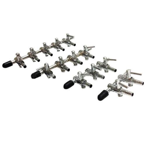 aquarium Metal Gang Valve Air Pump Fish Tank Air Flow regulator Fashion 1-5 Way