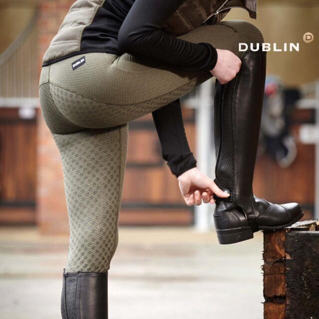 Dublin Performance Warm-It Gel Riding Tights Lake Ladies 12//30