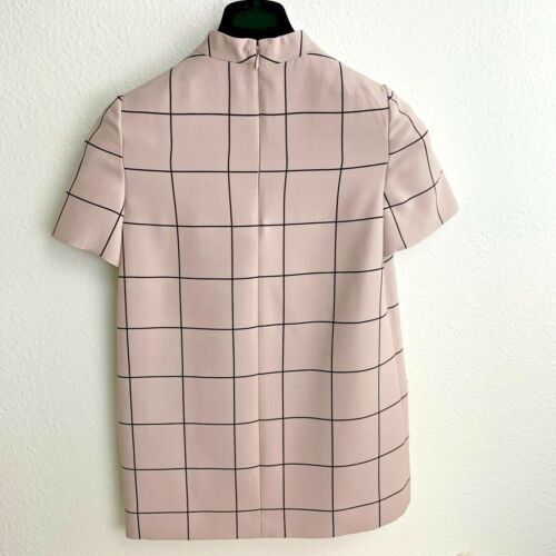 Xs Nwt crêpe Valentino Top Dames Couture Italië 00 Us Cr8Cz