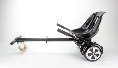rot SITZ AUFSATZ HOVERBOARD SMART BALANCE   43 cm breiter Bequemsitz-schwarz