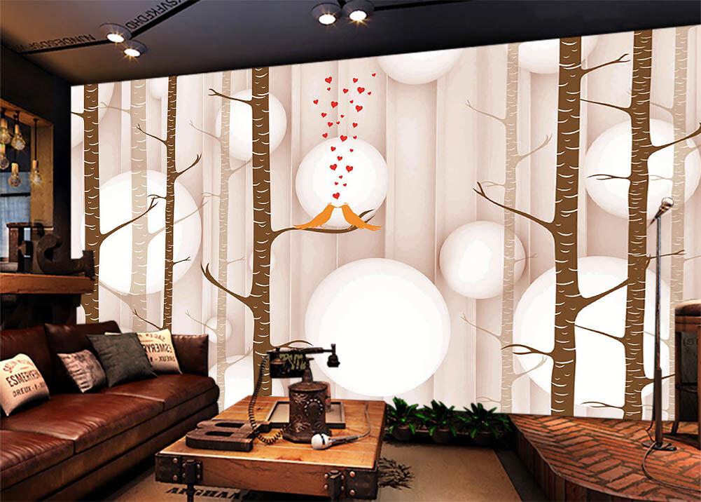 Pure ROT Love 3D Full Wall Mural Photo Wallpaper Printing Home Kids Decor