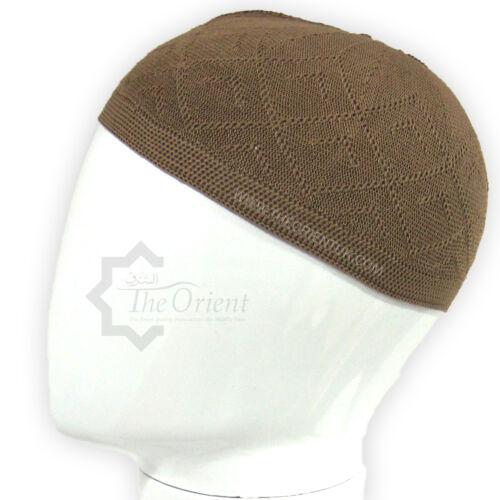 Uomini Skull Cap musulmano islamico preghiera Cappello Topi Kufi HEAD WEAR INDUMENTO COLORI