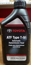4 Quart ATF Genuine Toyota T-IV Automatic Transmission Fluid Oil For Lexus Scion