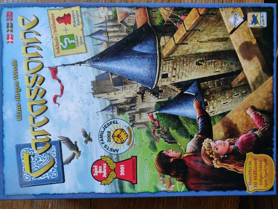 Carcassonne, Strategi/familie, brætspil