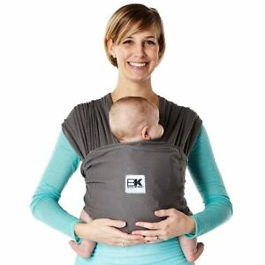 Baby K Tan Breeze Mesh Infant And Child Carrier Wrap Sling