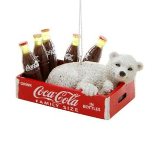 Coca cola Coke /& Cineplex Polar bear Ornament New in Package