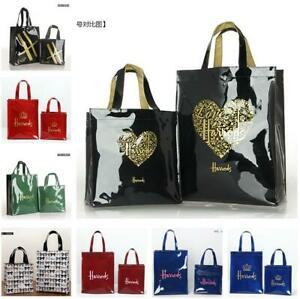 7904dc2b5774d Fashion Harrods London PVC Tote Bag Top-handle Casual Shopping ...