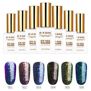 RS-Nail-Gel-Smalto-UV-LED-Soak-Off-Glitter-Paillettes-con-Super-SMALTO-GEL-Star