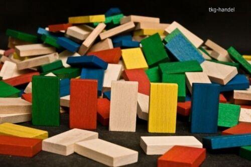 Holzbausteine bis 800 Holz Bausteine XL Holz Bauklötze Holzklötze Domino Steine