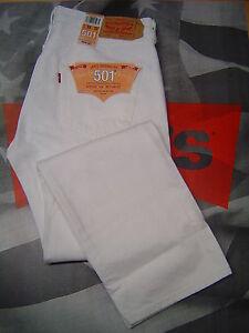 Mens Levis 501 Shrink To Fit Jeans