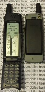 Ericsson R380 Bleu Foncé Mannequin Modèle D'écran Non Fonctionnel Téléphone Mobile-afficher Le Titre D'origine