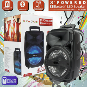 Portable-8-034-BT-Bluetooth-Party-Wireless-Speaker-Loud-Bass-Sound-Rechargeable