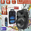 Portable-8-034-BT-Bluetooth-Party-Wireless-Speaker-Loud-Bass-Sound-Rechargeable thumbnail 1