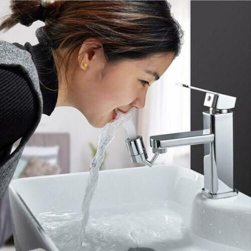 Filter 360 Degree Rotating Faucet Movable Kitchen Tap Head Water Saving Nozzle U